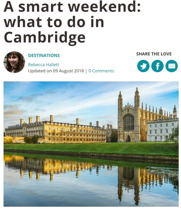 loveexploring Cambridge preview