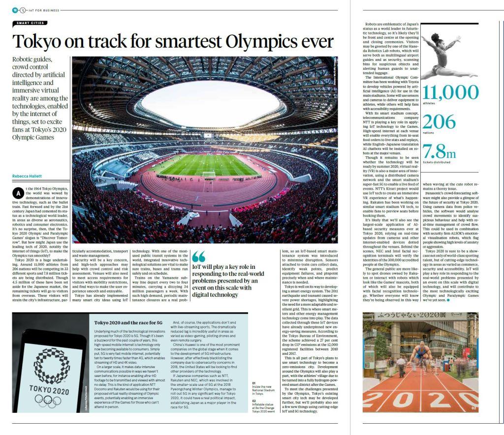 Tokyo Olympics Raconteur Sunday Times Rebecca Hallett